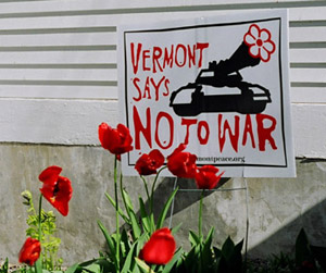 Vermont Says No to War
