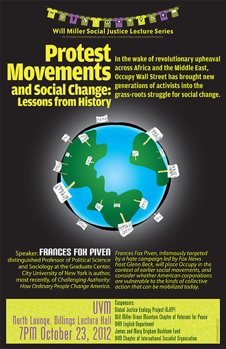 Protest Movement poster