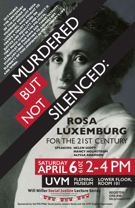 Murdered but Not Silenced: Rosa Luxemburg for the 21st Century