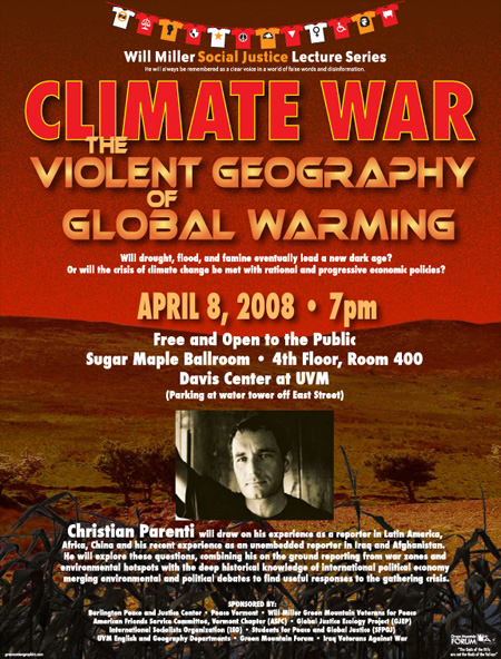 Climate War event poster