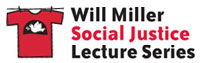 Will Miller Social Justice Lecture Series logo