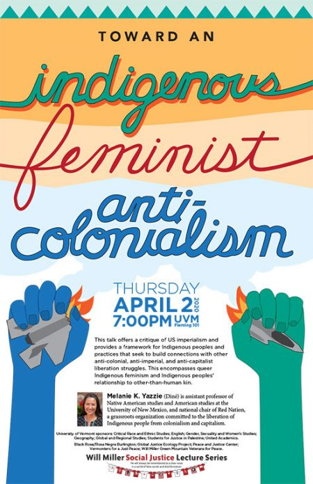 Poster: Toward an Indigenous Feminist Anti-colonialism