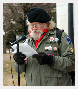 Will speaking at a protest