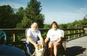 Ann, Will and their dog