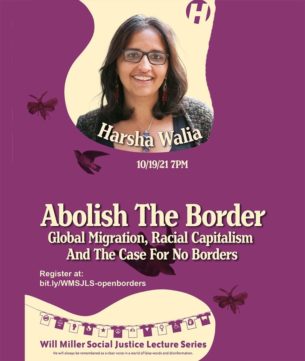 Harshia Walia - Abolish the Border